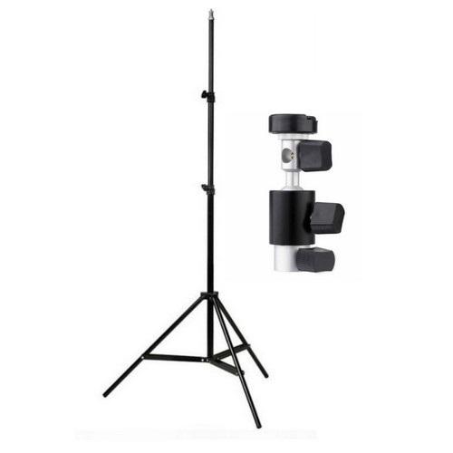 TEWISE Işık Ayağı + Şemsiye-Flaş Tutucu Set (200cm)