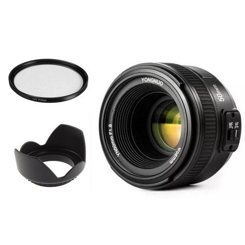 Yongnuo 50mm F1.8 Nikon Uyumlu Lens Seti II